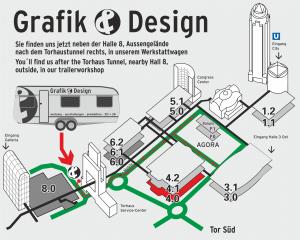 Grafik und Design auf der Frankfurter Buchmesse